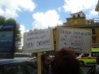 #StopFnsi cartelli