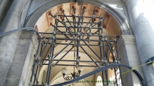 L'Aquila, centro storico - Portici puntellati
