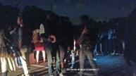 Baobab a piazzale Maslax con i migranti sgomberati